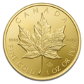 Maple Leaf 1 Oncia Oro fdc