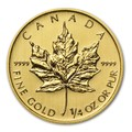 Maple Leaf 1/4 oncia oro fdc
