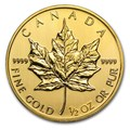 Maple Leaf 1/2 oncia oro fdc