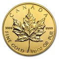 Maple Leaf 1/10 oncia oro fdc